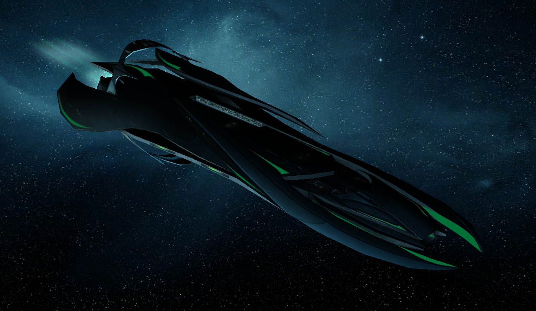 Asari Ships Concept Art