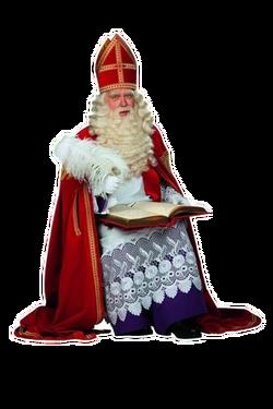 Sinterklaas met het Grote Boek