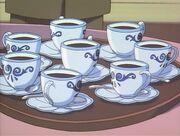 040 Frischer Schwarzer Kaffee für die Gäste