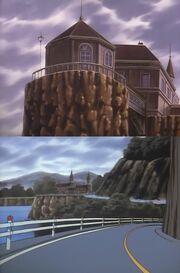 Episode 091 Villa Dracula - Felsen - Serpentinen