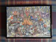 24122016 Weihnachtszeichnung für meine Mutti & meinen Vati - Barbarossahöhle