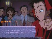040 Reika's Geburtstagskuchen mit Kerzen