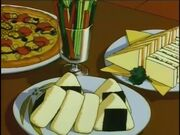 043 Pizza - Onigiri - Sandwiches