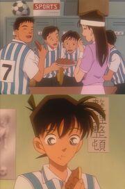 Episode 107 Asami's Zitronenkuchen für die Teitan Fußballmannschaft
