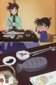 Episode 171 Menü von Ran, Conan und Kogoro