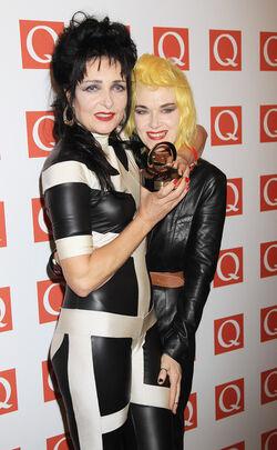 Pam Hogg Siouxsie Sioux Q Awards