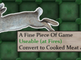 A Fine Piece Of Game (Rabbit)