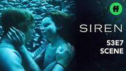Siren Season 3, Episode 7 Ben & Ryn Share An Intimate Moment Underwater Freeform