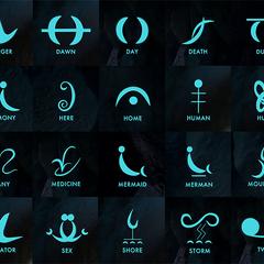 Mermaid Language Symbols