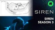 "Siren From Storyboard to Scene Season 3, Episode 4 ""Ryn's Second Smile"" Freeform"