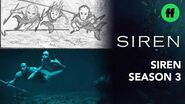 "Siren From Storyboard to Scene Season 3, Episode 9 ""'A Voice In The Dark"" Freeform"