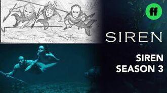 "Siren From Storyboard to Scene Season 3, Episode 9 ""'A Voice In The Dark"" Freeform"