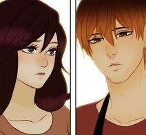 Human Lyra and Shon 8