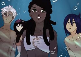 Siren Lyra, Ian, Tua, and Pele 1