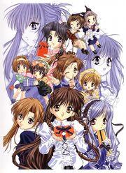 Sister Princess Characters