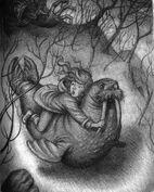 Sabrina and the walrus fairy-boy