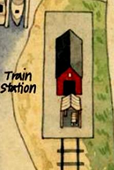 Ferryport Landing Train Station