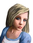 Sabrina portrait by lizalot