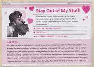 Bluebeard Dating Profile
