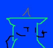 Doodle Green Tack