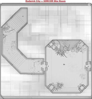 Roderick City -- Citadel of the Dark Divine Basement Floor