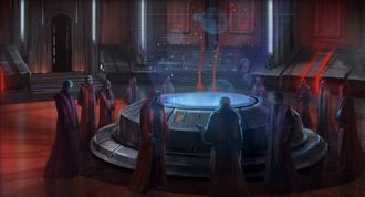 De Dark Council van het Sith Empire