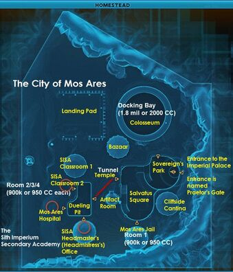 Mos Ares Map