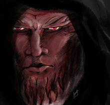 Sith pureblood colored by arowell-d9xba89