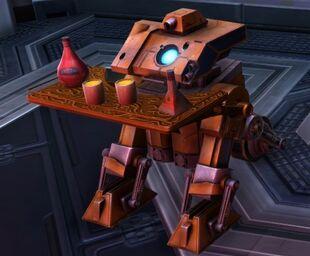 W8R, Astromech Service Droid Extraordinaire