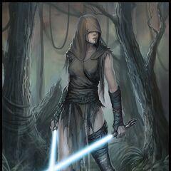 Tal'Vi'shira Torak- Dathomiri Saber Master, Nightsister, Mariarch 3803-3774 BBY- AoD: 55