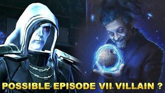 "Star Wars Ep. VII Villain ? "" God Awakens "" Emperor Vitiate - By DuduFilm"