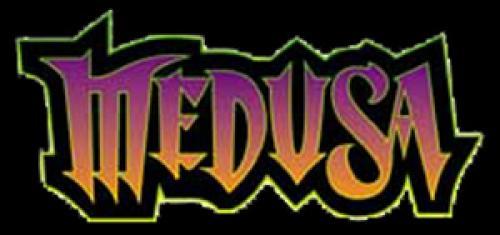 Medusa Roller Coaster Logo