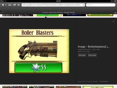 Tier 4 boiler blasters