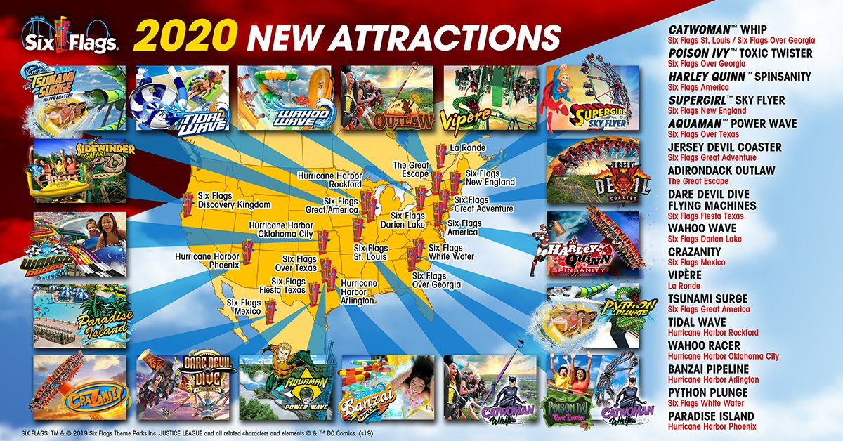 2020 New Attraction Announcements | Six Flags Wiki | FANDOM ... Six Flags Great Adventure Map on six flags nj map, magic springs and crystal falls map, dorney park map, washington street mall map, kingda ka map, mt. olympus water & theme park map, kiddieland map, kennywood map, holiday world santa claus indiana map, the gallery at market east map, penn hills resort map, knott's berry farm map, magic kingdom map, 2014 six flags magic mountain map, great america map, cedar point map, thorpe park map, wyandot lake map, big e fair map, 2014 six flags over georgia map,