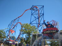 Superman's Entrance And Layout