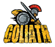 Goliath logo (Six Flags Great America)