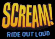 Scream! Ride Out Loud logo