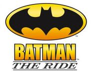 Batman The Ride logo