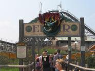 Viper entrance Six Flags Great Adventure