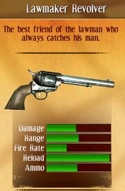 Lawmaker revolver