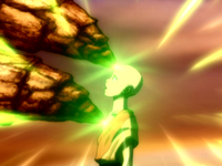 Aang and Lion Turtle