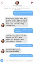 Chat mit Manfred-Wolfgang 1