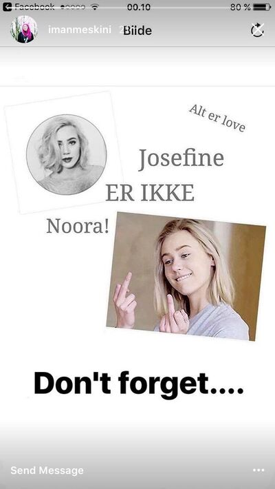 JosefineIsNotNoora