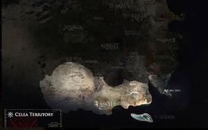 Celea-map