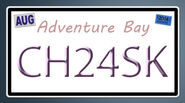 CxS License Plate Template (Fanmade)