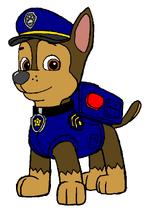 Chase paw patrol by kingleonlionheart d6pzziw
