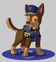 Paw patrol ultimate rescue police chase by kreazea-dcpp28i