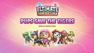 Ultimate Rescue Pups Save the Tigers (HQ) (Skye's Patrol)