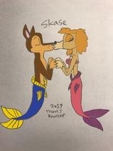 The Skase Kiss (Merpup Version)