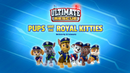 Ultimate Rescue, Pups Save the Royal Kitties (HQ) (Chase Patrol)